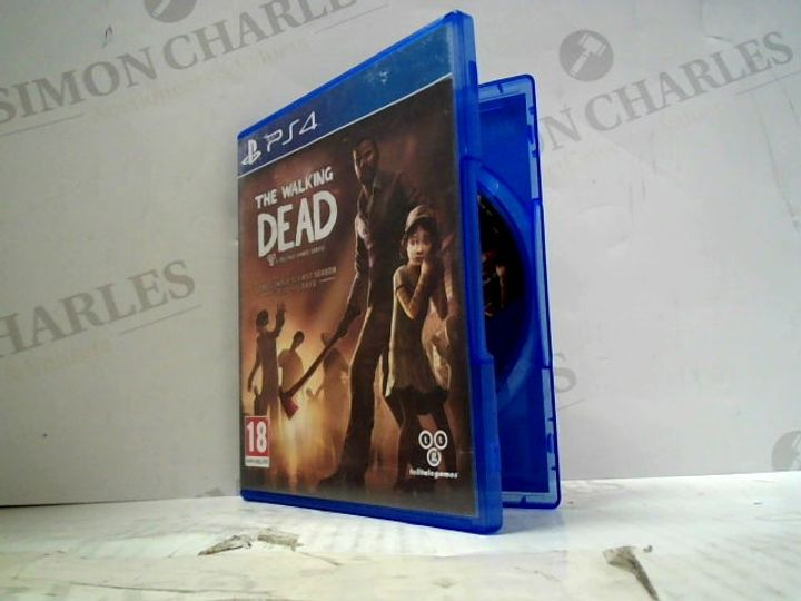 THE WALKING DEAD PLAYSTATION 4 GAME