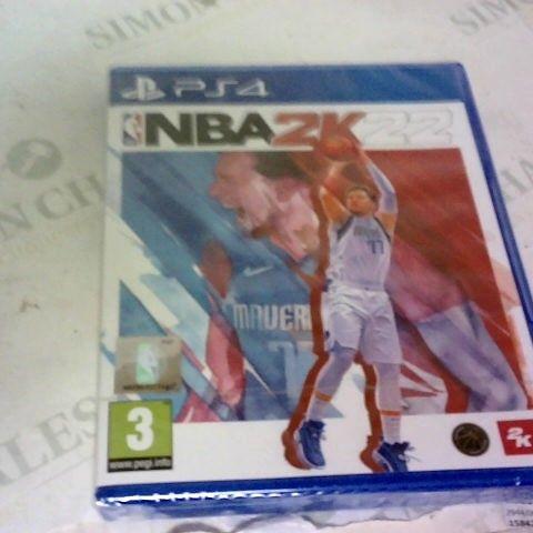 NBA 2K22 PLAYSTATION 4 GAME