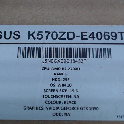 ASUS K570ZD-E4069T GAMING LAPTOP
