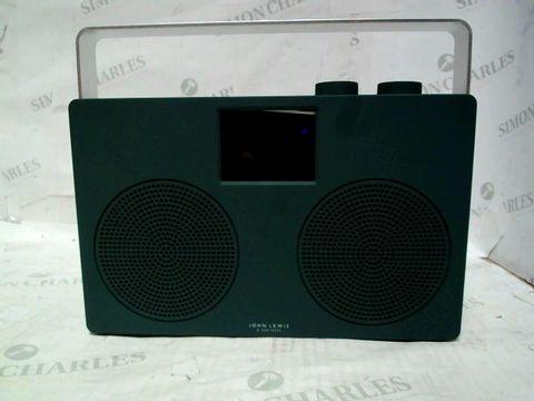 JOHN LEWIS SPECTRUM DUO DAB+/FM DIGITAL RADIO