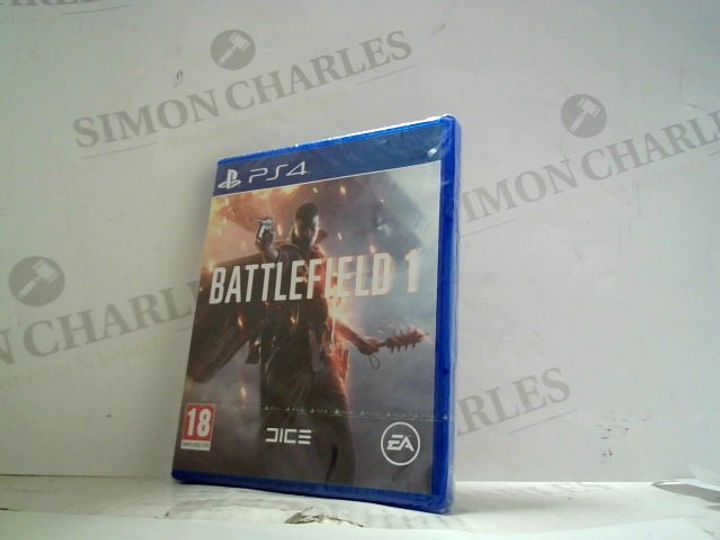 BATTLEFIELD 1 PLAYSTATION 4 GAME