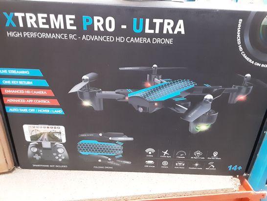 XTREME PRO-ULTRA HIGH PERFORMANCE HD CAMERA DRONE