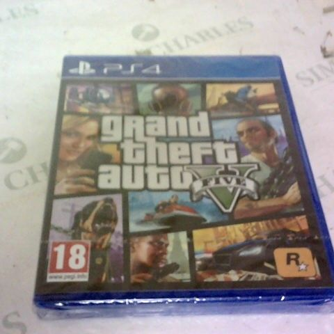 GRAND THEFT AUTO 5 PLAYSTATION 4 GAME