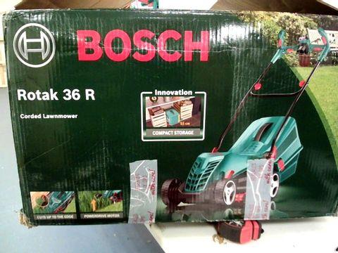 BOSCH ROTAK 36R CORDED LAWN MOWER