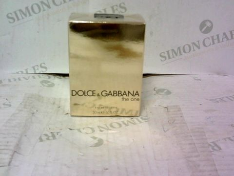 BOXED DOLCE AND GABBANA THE ONE EAU DE TOILETTE