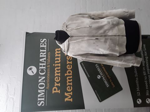 ABERCROMBIE AND FITCH HOODED JACKET SIZE S