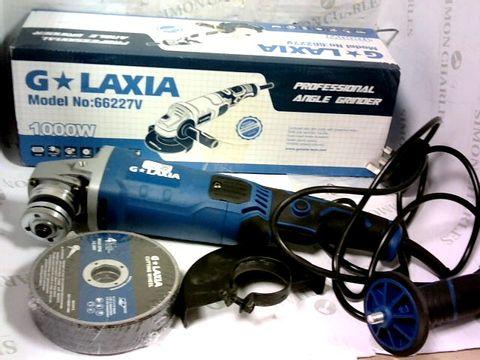 G LAXIA MODEL NO: 66227V - 1000W PROFESSIONAL ANGLE GRINDER