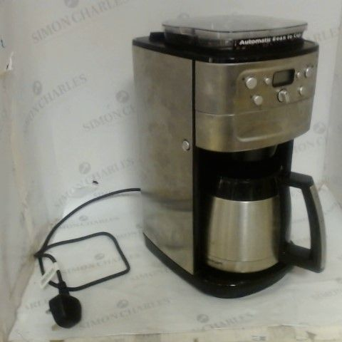 CUISINART GRIND & BREW PLUS AUTOMATIC BEAN-TO-CUP MACHINE