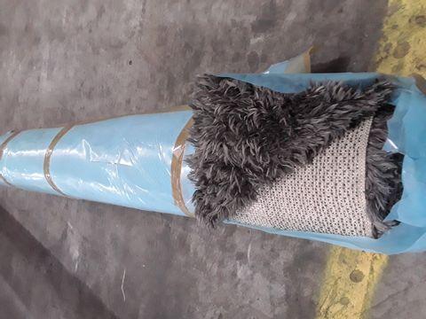COZEE HOME AURORA SHAGGY RUG -CHARCOAL 160 × 230