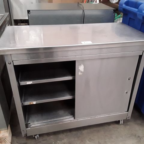 MOBILE ELECTRIC HOT CUPBOARD