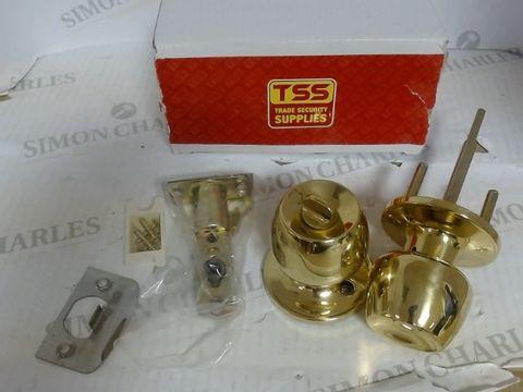 TSS TRADE SECURITY SUPPLIES - BRASS DOOR LOCKS