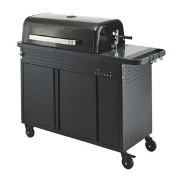 BOXED GOODHOME ROCKWELL CHARCOAL BARBECUE MODEL 410(2 BOXES)