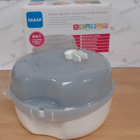MAM ELECTRIC STERILIZER AND EXPRESS BOTTLE WARMER