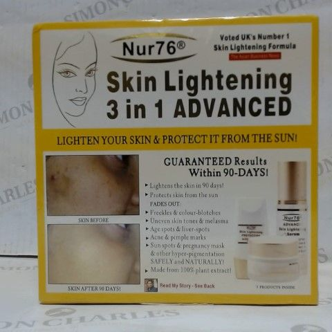NUR76 SKIN LIGHTENING 3 IN 1 ADVANCED KIT