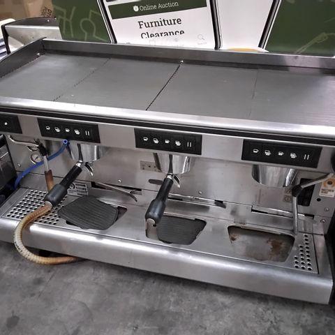 RANCILLIO 3 GROUP BARRISTA COFFEE MACHINE
