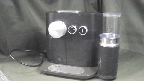 NESPRESSO EXPERT COFFEE AND MILK MACHINE, BLACK BY KRUPS
