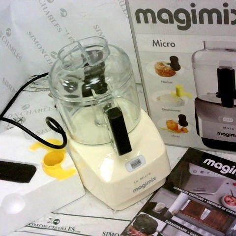 MAGIMIX 18112 LE MICRO FOOD CHOPPER, CREAM