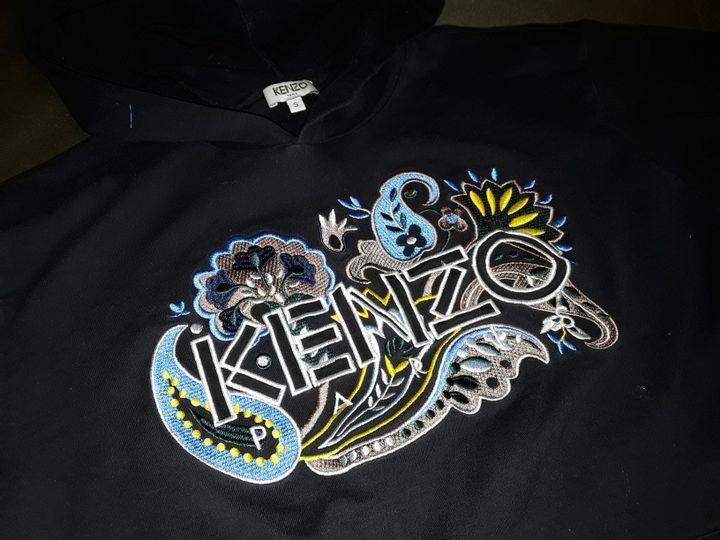 ZENZO BLACK HOODIE - SMALL