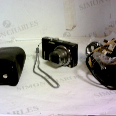 PANASONIC LUMIX DIGITAL CAMERA WITH CARRY CASE, AND CHARGER