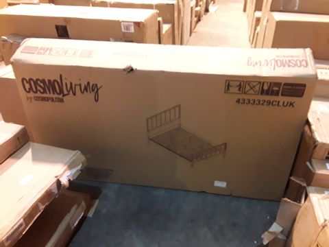 BOXED GRADE 1 COSMO LIVING 5FT BED FRAME (1 BOX)