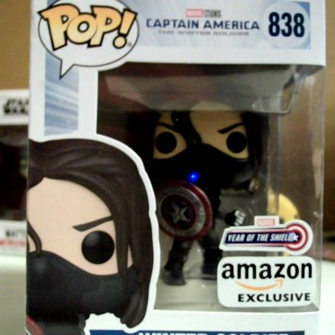 POP! CAPTAIN AMERICA THE WINTER SOLIDER YEAR OF THE SHIELD EXCLUSIVE FIGURE