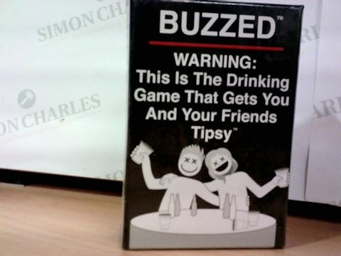 BUZZED DRINKING GAME  18+