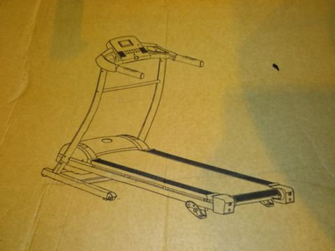 BOXED DYNAMIX T2000D FOLDABLE MOTORISED TREADMILL WITH MANUAL INCLINE (1 BOX) RRP £349.99