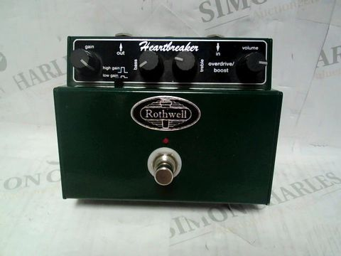 ROTHWELL The Heartbreaker overdrive/boost PEDAL
