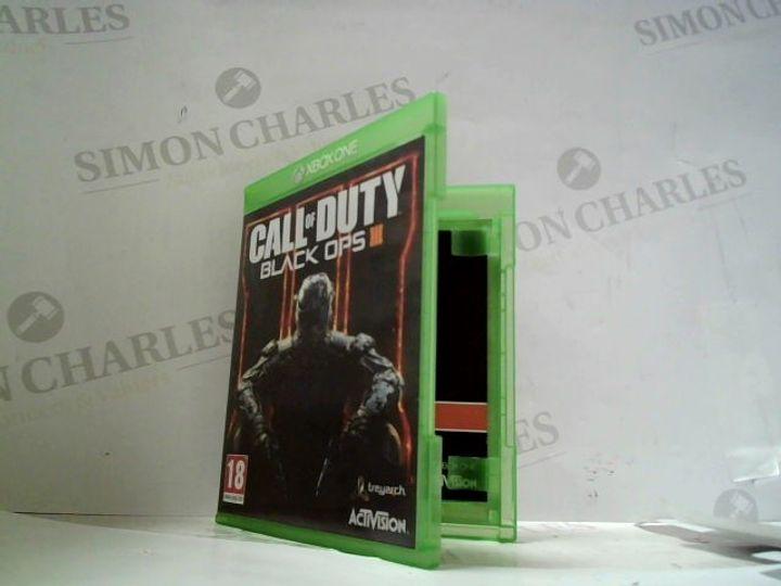 CALL OF DUTY; BLACK OPS III XBOX ONE GAME