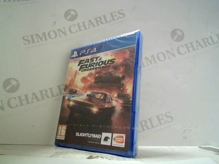 FAST & FURIOUS CROSSROADS PLAYSTATION 4 GAME
