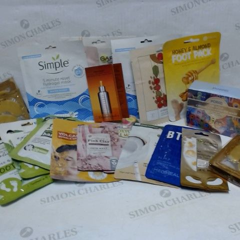 LOT OF APPROXIMATELY 20 ASSORTED SKIN MASK ITEMS