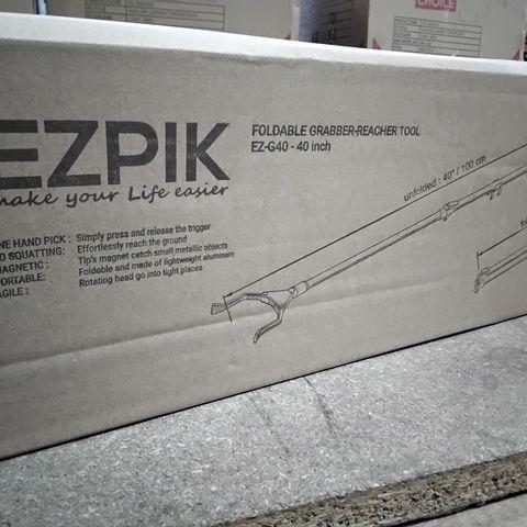 FOUR EZPIK FOLDABLE GRABBER-REACHER TOOLS