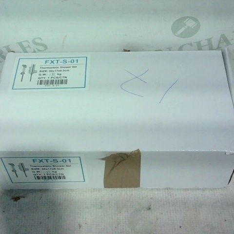THERMOSTATIC SHOWER SET:  SIZE 30 X 17 X 9.3CM