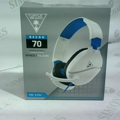 TURTLE BEACH RECON 70 WIRED GAMING HEADSET FOR PLAYSTATION