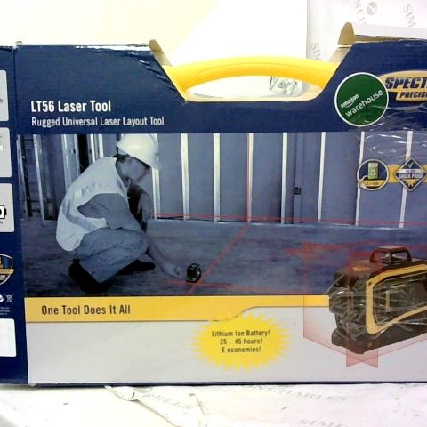 SPECTRA PRECISION LT56 PLACE LASER TOOL YELLOW