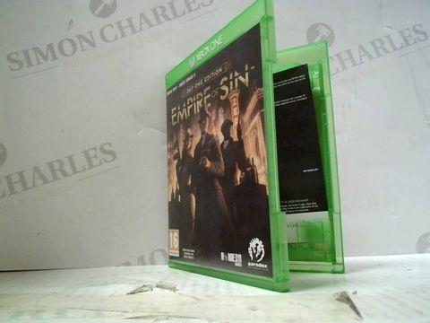 EMPIRE OF THE SUN XBOX ONE/XBOX XERIES X GAME
