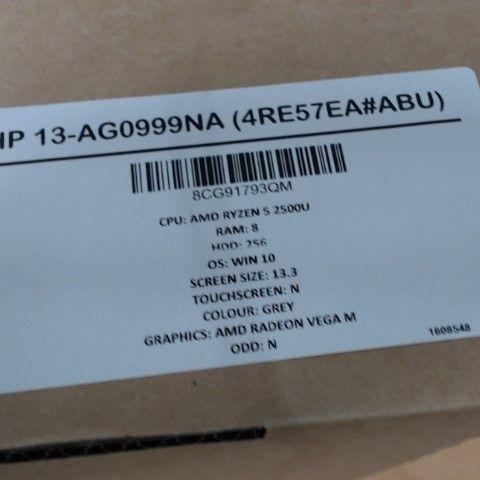 HP 13-AG0999NA 13 INCH LAPTOP