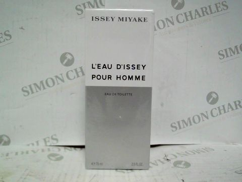 ISSEY MIYAKE L'EAU D'ISSEY POUR HOMME EDT - 75ML - BRAND NEW SEALED