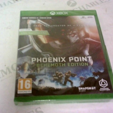 PHOENIX POINT BEHEMOTH EDITION XBOX ONE/XBOX SERIES X GAME