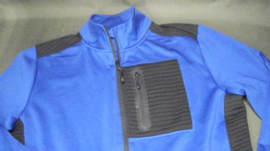 FRENCH CONNECTION ZIP THROUGH JACKET IN BLUE