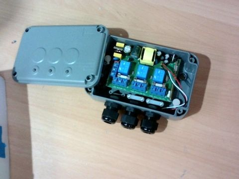 KNIGHTSBRIDGE IPAV663G IP66 3G REMOTE SWITCH BOX