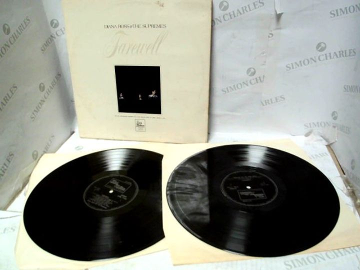 """DIANA ROSS & THE SUPREMES FAREWELL FRONTIER HOTEL RECORDING 12"""" VINYL"""