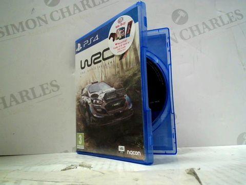 WRC 9 PLAYSTATION 4 GAME