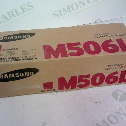 SEALED SAMSUNG M506L MAGENTA TONER CARTRIDGE SERIES CLP-680