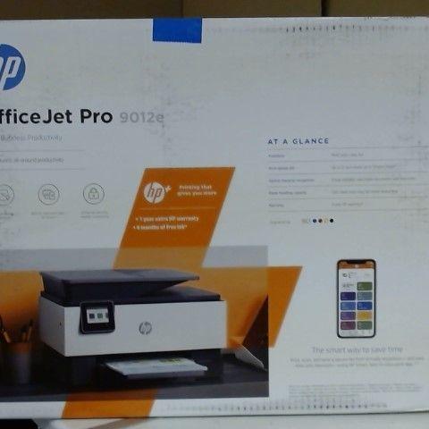 HP OFFICEJET PRO 9012 MULTIFUNCTIONAL PRINTER