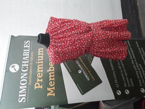 AX PARIS RED DRESS SIZE 12