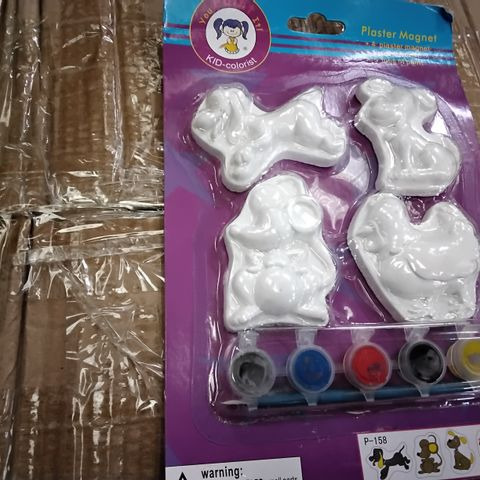 BOX OF APPROXIMATELY 150 ASSORTED 3D PAINT SET