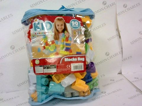 2 BRAND NEW KID CONNECTION 90 PIECE BLOCKS BAGS