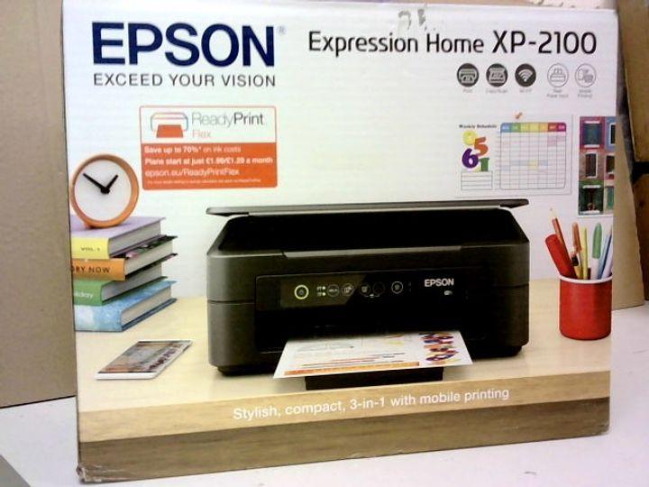 EPSON EXPRESSION HOME XP-2100 WIFI ENABLED COLOUR PRINTER