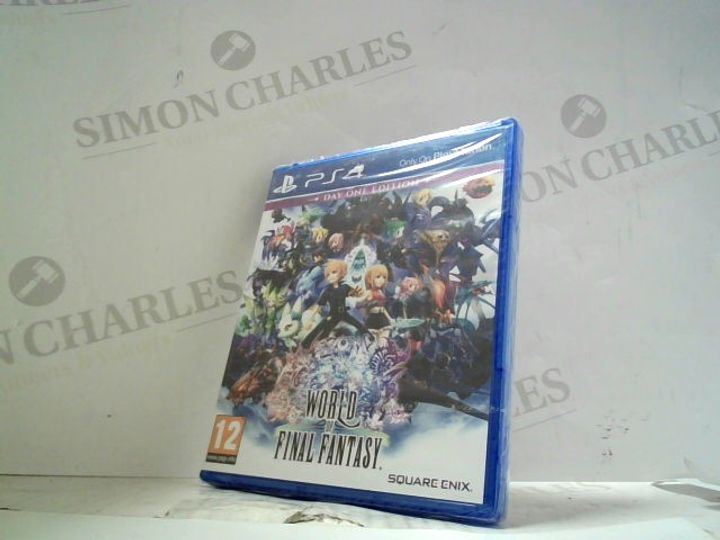 WORLD OF FINAL FANTASY PLAYSTATION 4 GAME